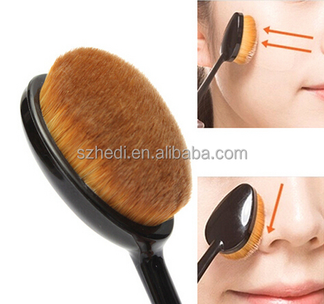 2016 NewTop Quality Oval Toothbrush Makeup Brush