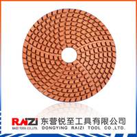 4 inch diamond wet polishing pad for granite