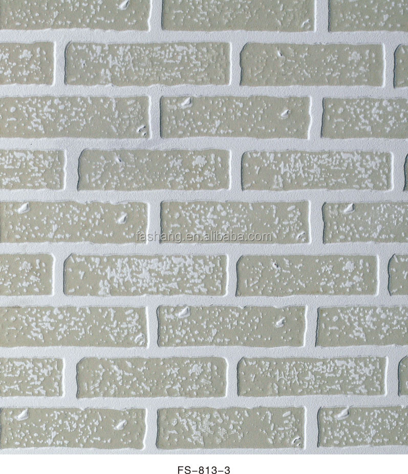1120 2240mm FS-813 hardboard wall panel brick