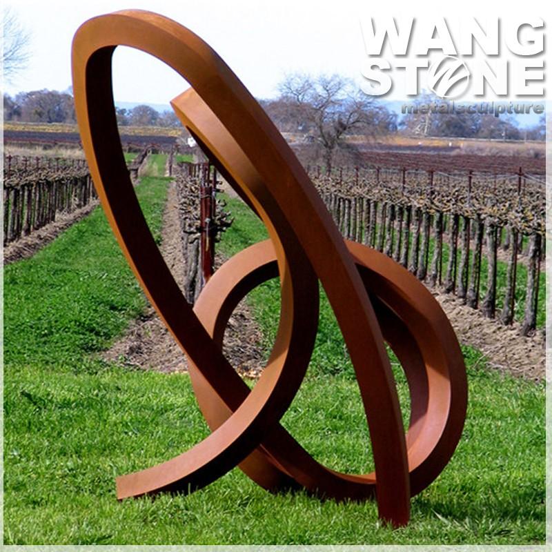 Large Corten Steel Garden Art Dancing Ribbon Metal Sculpture Buy Corten Steel Garden Art Metal