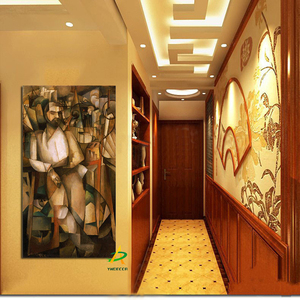 Modern Abstract Wall Art Painting Nude Man Painting On Canvas For Hotel Bar Home Decoration