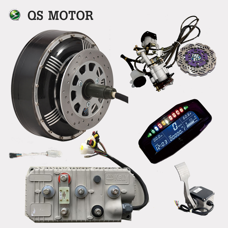 Qs Motor 273 6000w Electric Car Conversion Kit Utv Tricycle Kits