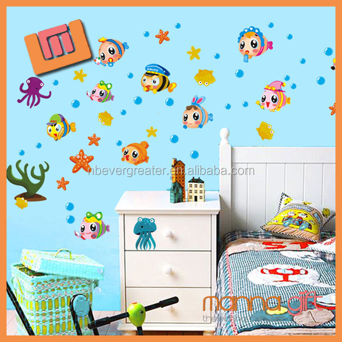 China wholesale wall stickers custom wall decals for children