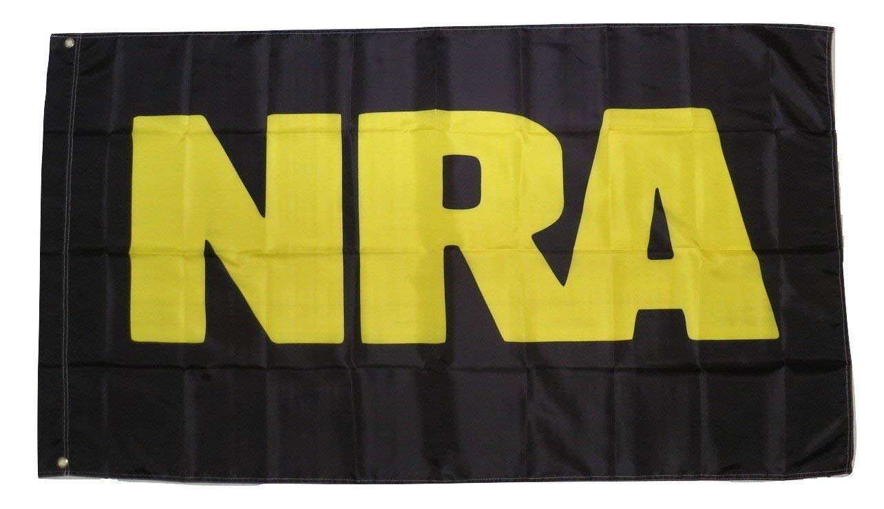 TrendyLuz Flags NRA 2nd Amendment 3x5 Feet Banner Flag