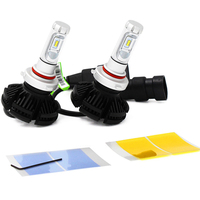 50W 6000LM high power X3 car led headlight H4 H7 9005 9006 H13 3000k, 6500k, 8000k