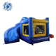 High quality outdoor inflatable castle with slide, small jumping bouncer for kids