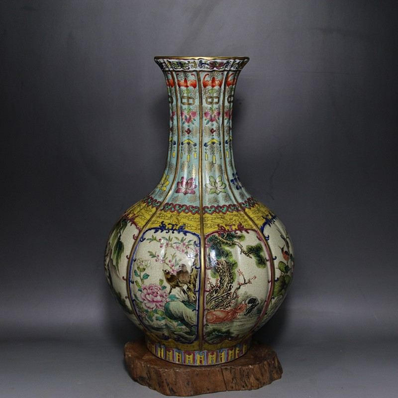 Chinese Top Antique Replica Qing Dynasty Porcelain Vases Buy