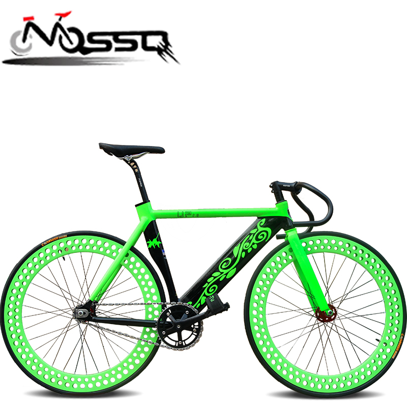New Fixed Bike 700cc Road Single Speed Cycles Full Alloy