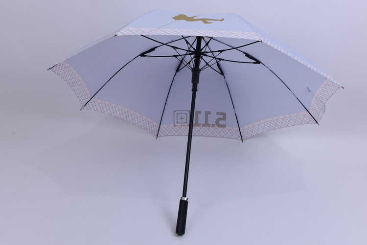Chinese umbrella dripless Windproof Fiberglass Sun Straight Golf Umbrella