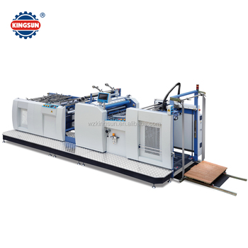 SWAFM-1050 model High Speed Automatic thermal film laminator machine