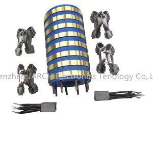 Customized Slip Assembly Carbon Brush Alternator Collector Ring