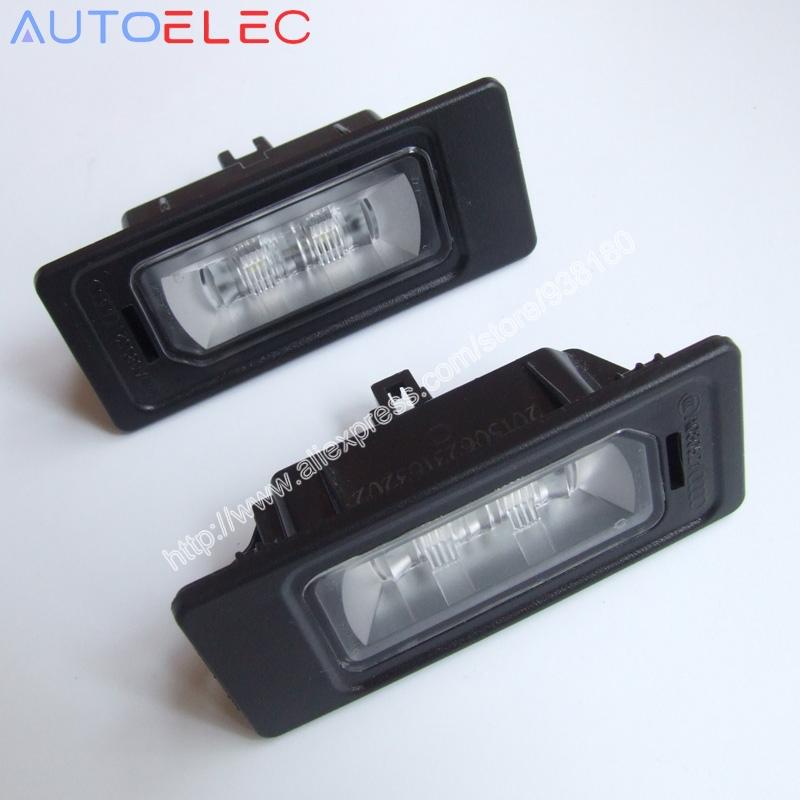 Сделано в китае 4G0 943 021 для VW Golf VI A4 S4 B8 8 К + авант-курьер A1 A3 A4 A5 A6 A7 Q3 Q5 из светодиодов номерного знака свет из светодиодов лицензия лампа