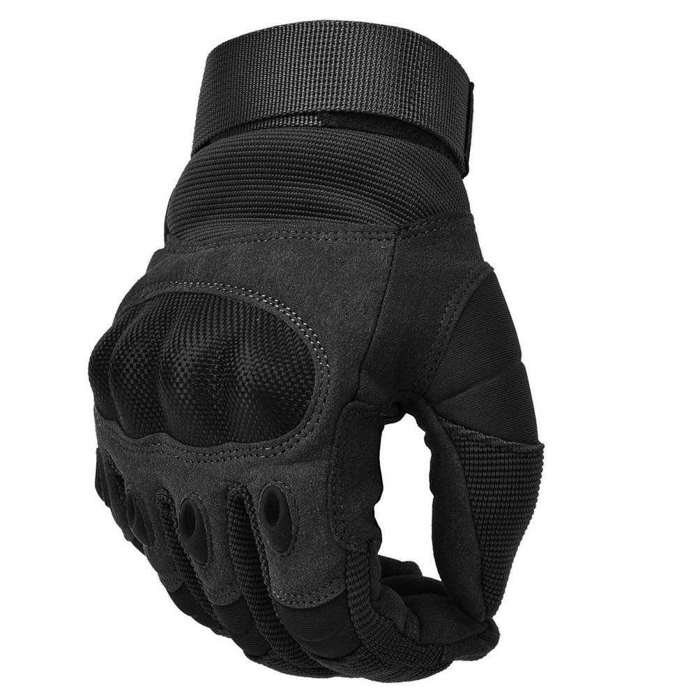 REEBOW TACTICAL Military Hard Knuckle Tactical Gloves Motorcycle Gloves Motorbike ATV Riding Army Combat Full Finger Gloves