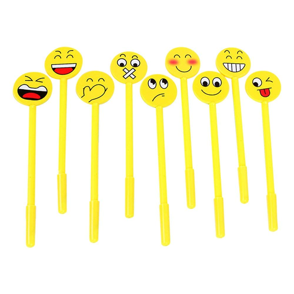 "Baidercor 7"" Cute Emoji Gel Pens Set of 9"