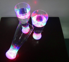 China factory suppy bar/pub led flashing cola cup,Wholesale led light cup,plastic flashing led drinking beer cup