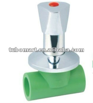 High quality plastic water stop valve with low price