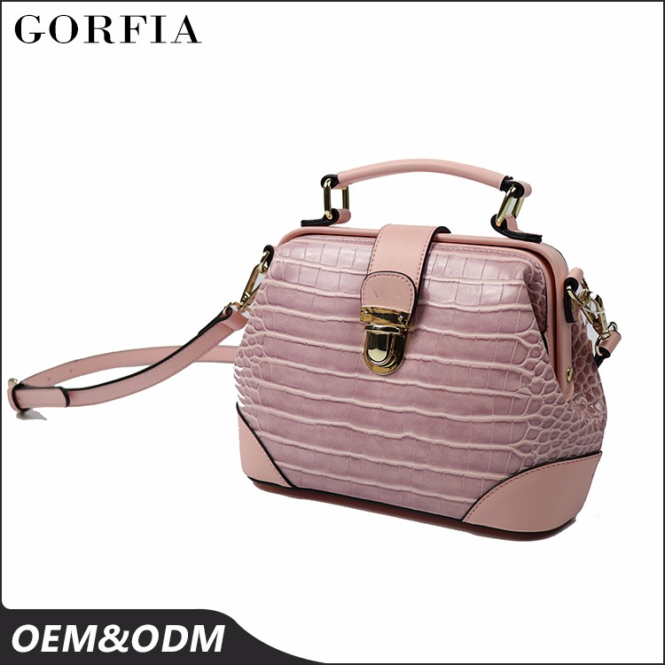 New Summer classical fashion bag lady designer Crocodile leather handbag for wholesale