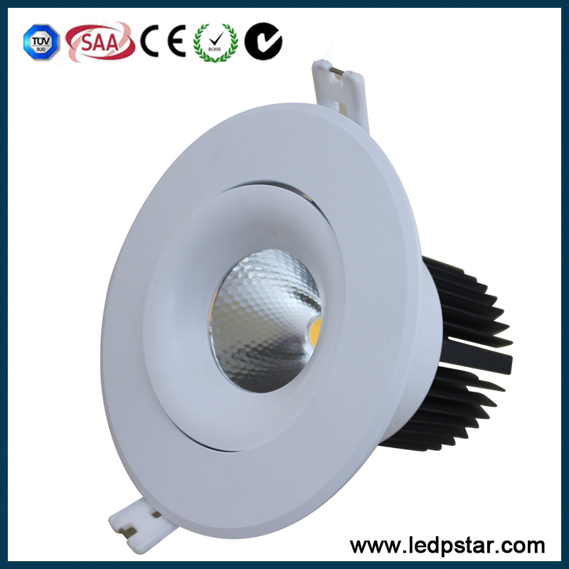 high power 50W Cree COB led downlight high class with SAA TUV
