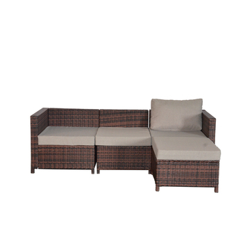 outdoor furniture 4 seater rattan patio set 2