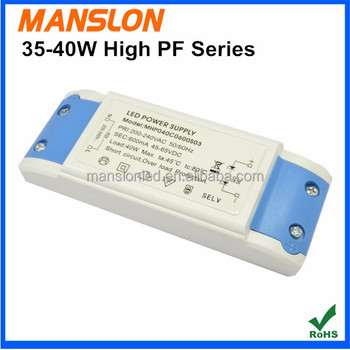 Factory Supply 15-40w High Pf Constant Current Led Driver,Usb ...