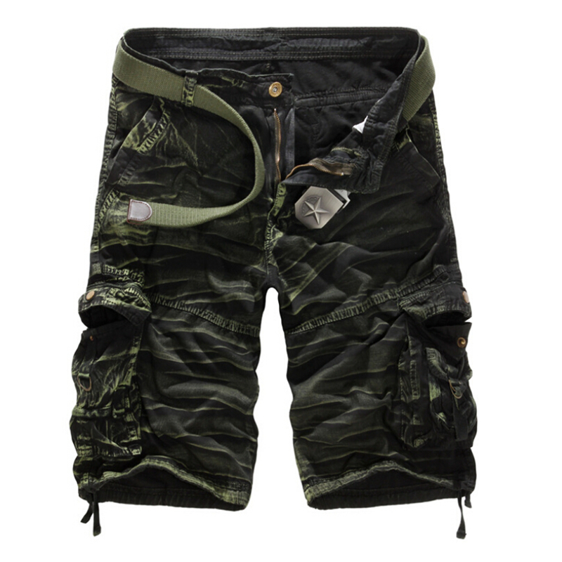 New 2015 Summer Brand Mens Camo Cargo Shorts Army Military Camouflage Short Men Bermuda Masculina Men's Casual Sport Shorts Men