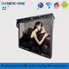 digital signage 22 inch wifi tft roof-fixed bus android smart media player for advertisement promotion