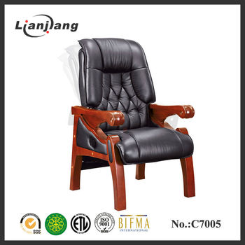 Wooden Conference Room Chairs With Four Legs