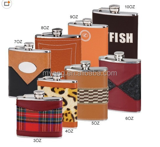 factory price BPA free Hip Flask/Classcial Stainless steel hip flask