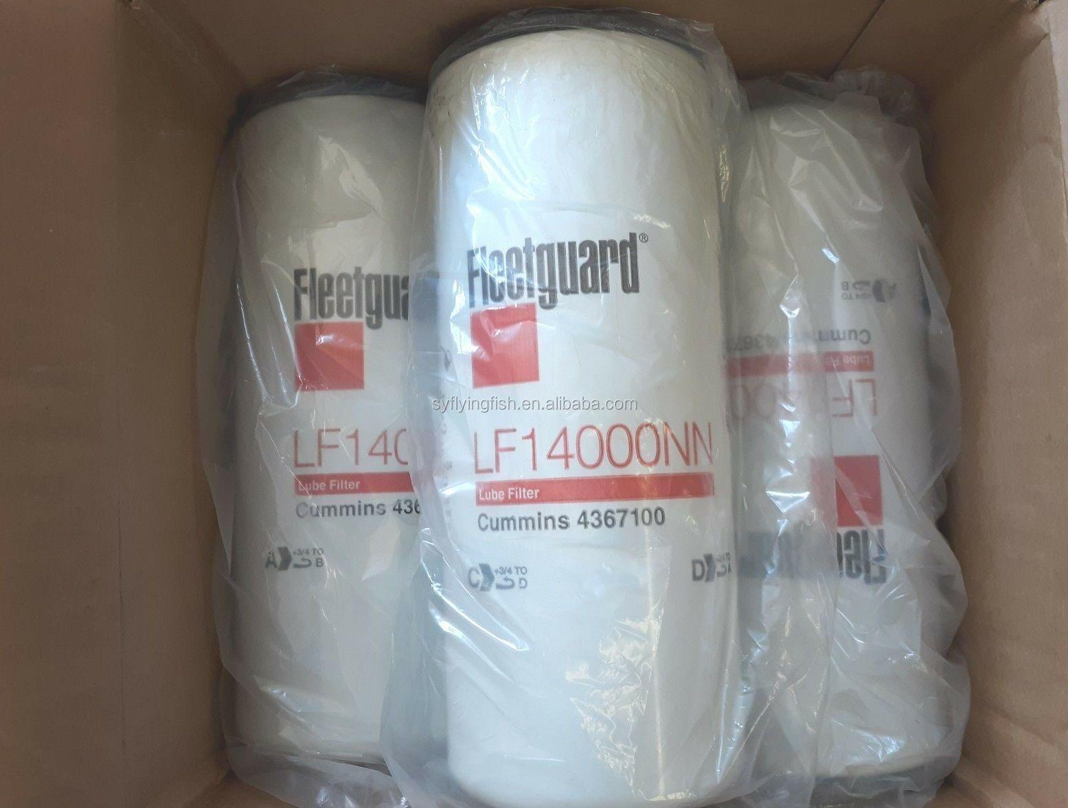LF14000NN Fleeguard Oil Filter Pack of 6