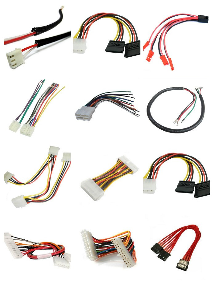 Good 8 Pin Twisted Wiring Harness Servo Extension Cabel