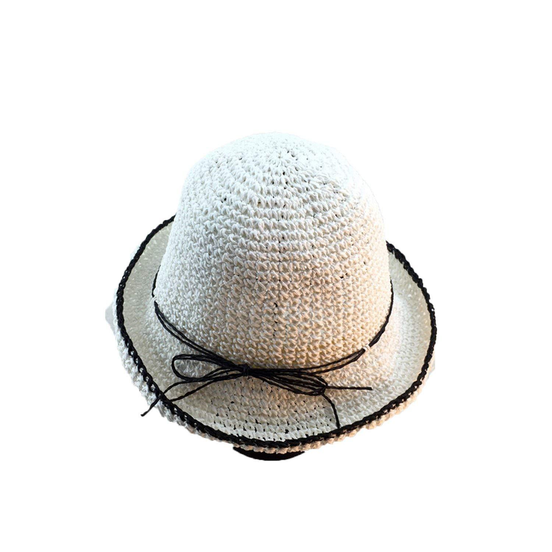 046606b7313 Get Quotations · Hand-Folding Straw Hat Female Summer Beach Hat Travel Straw  Hat Beach Hat Sun Hat