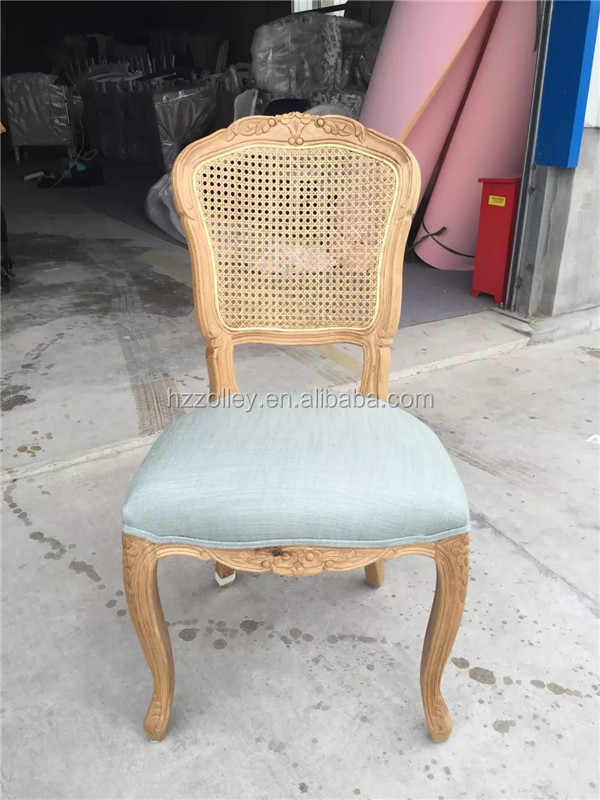 Hotel furniture restaurant dining chairs, French vintage shabby chic furniture victorian cafe chair