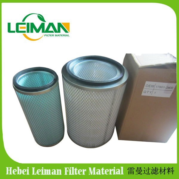High quality for Hino air filter 17801-2600