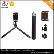 PingWen zhongshan hot sales professional carbon fiber camera tripod,perosonal photographer light stand selfie tripod