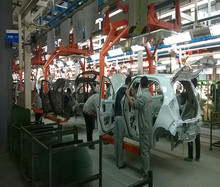 car manufacturing assembly line, car manufacturing assembly line