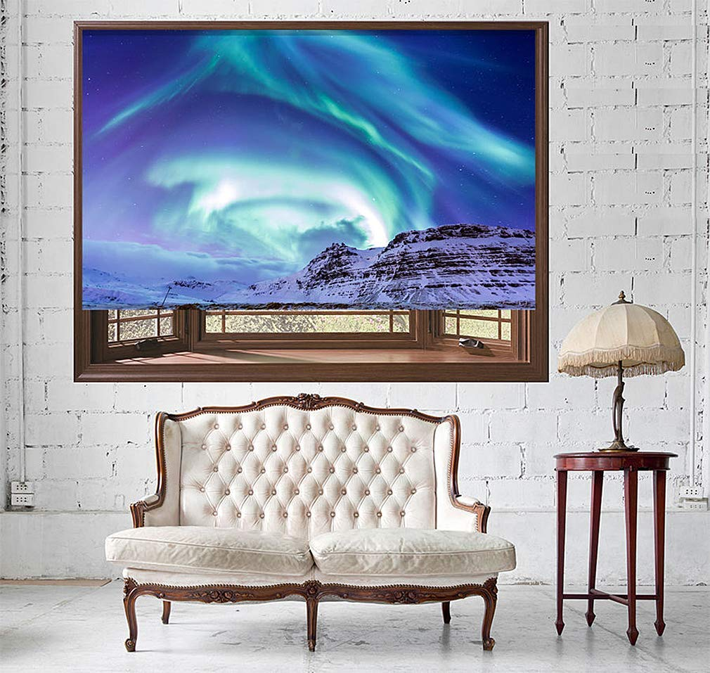 lowes custom blinds cellular shades get quotations northern lights aurora iceland printed picture photo roller blind custom made blindsshade cheap lowes blinds find blinds deals on line at