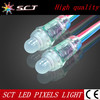 factory price 12mm smart ws2801 rgb led pixel light(SCT-DD-1)