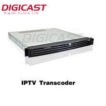 (DMB-8000) IP to HLS Converter iphone ipad tv computer mobile tv application Mpeg4 HLS IPTV Transcoder