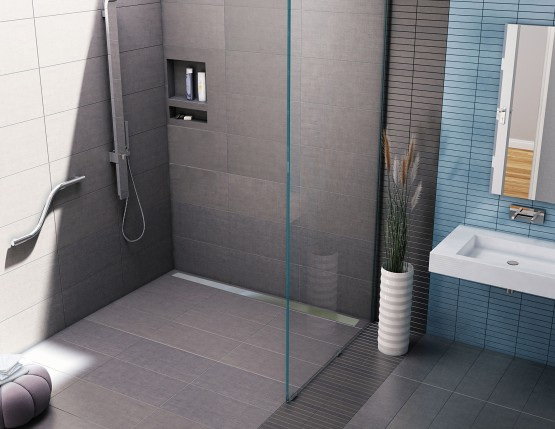 Fliesen Dusche Wasserdicht : Barrier Free Shower Pan