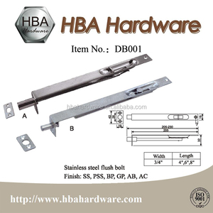 Hardware Sliding Safety Door Bolt Spring Latch Lock