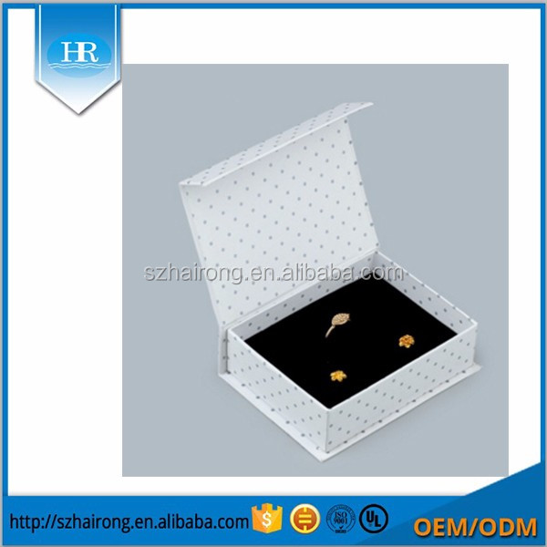 Custom Cardboard Gift Paper Packaging Box with Magnet Closure