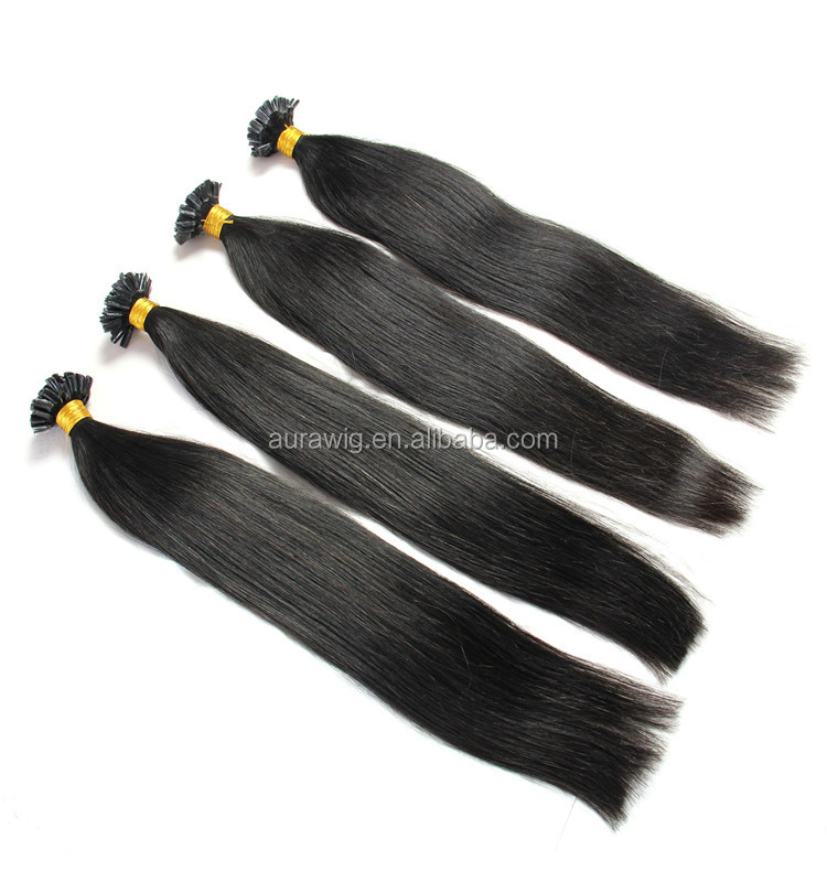 U-TIP Hair Extensions V-tip Hair Best selling products factory wholesale pre bonded hair extensions