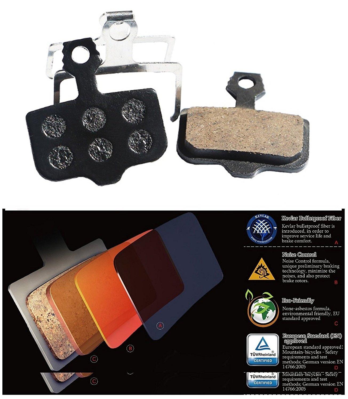 4 pairs Organic Semi-Metal Pads AVID Elixir C CR Mag R Elixir 9,7,5,3,1