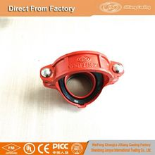 "Manufacturer directly supply from 1"" to 12"" Grooved Mechanical Tee with cheapest price"