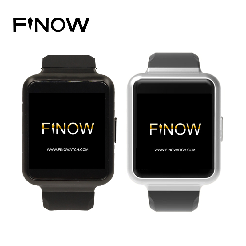 "Finow Q1 Smart Watch With Flash 1G and 8G IPS TFT Touch Screen 1.54"" Display WiFi GPS 3G Bluetooth Nano Sim q1 Smartwatch <strong>phone</strong>"