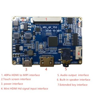 LCD driver board controller board compatible with HDMI to MIPI DSI work for  TFT LCD Screen panel