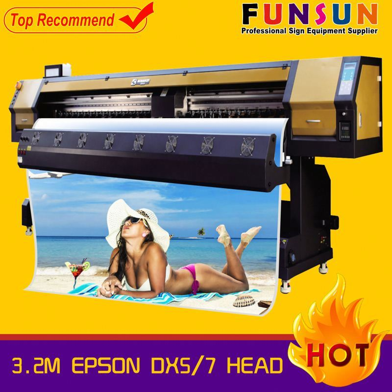Funsunjet FS-3202G 3.2m dx5 head 1440dpi mt digital 3.2m uv printer