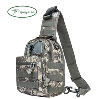 military army camouflage tactical shoulder bag