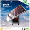 Complete 200W Mobile Solar Panels for the Home
