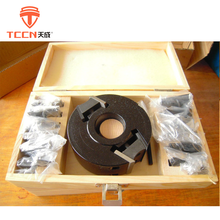 TCCN German Quality Woodworking Aluminum Or Steel Body CNC Profile Cutter Head